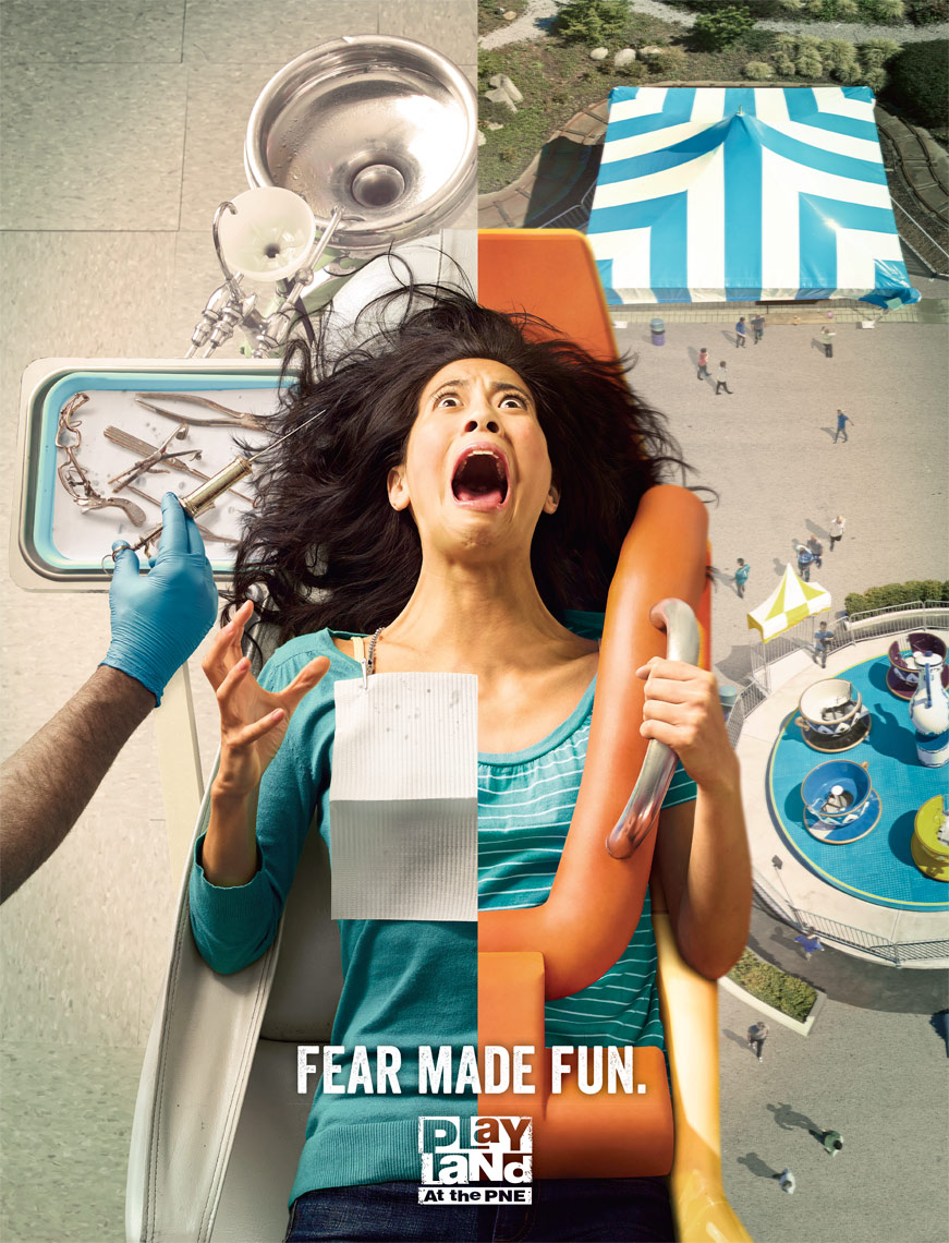 Fear Made Fun Advertising Photographer Advertising Photography